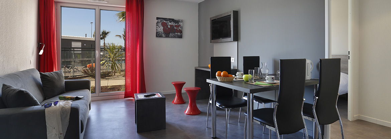Résidence Le Terral - Vacancéole - Saint Jean de Védas - Montpellier - Appartement 4 personnes